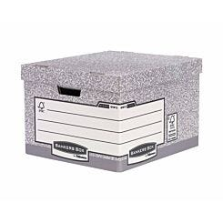 Fellowes Bankers Box Cardboard Storage Box Heavy-Duty Pack of 10