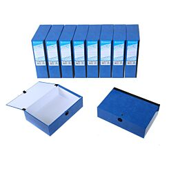Ryman Select Box File A5 Pack of 10 Blue
