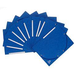 Exacompta Portfolio Folder A4 Elasticated Pack of 10 Blue