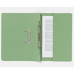 Guildhall Pocket Spiral Foolscap File 285gsm Pack of 25 Green