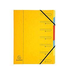 Europa Multipart File Pressboard 12 Part Yellow