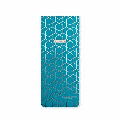 Matilda Myres Slim Magnetic Shopping List Teal