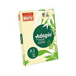 Adagio Copier Paper A3 80gsm Ream Canary