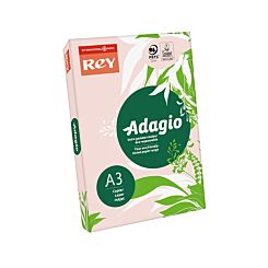 Adagio Copier Paper A3 80gsm Ream Pink