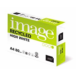 Image Recycled High White Copier Paper A4 Ream 80gsm