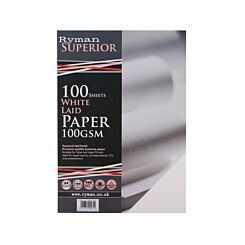 Ryman Laid Paper A4 100gsm 100 Sheets