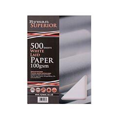 Ryman Laid Paper A4 100GSM Ream White