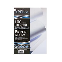 Ryman Prestige Ultra Smooth Paper A4 120gsm 100 Sheets