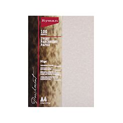 Ryman Parchment Paper A4 90gsm Pack of 500 Ivory