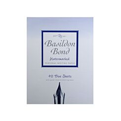 Basildon Bond Duke Writing Pad 178x137mm 90gsm 80 Pages 40 Sheets