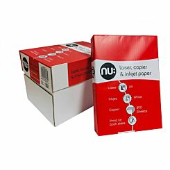 Nu Copier Paper A4 70gsm Box of 5 Reams