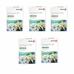 Xerox Supreme Copy Paper A4 Recycled 80gsm Box of 5 Reams
