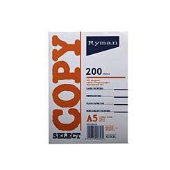 Ryman Copier Paper A5 80gm Pack of 6 White