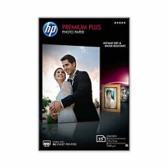 HP Premium Plus Photo Paper 10x15 25 Sheets