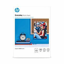 Hewlett Packard Everyday Photo Inkjet Paper A4 Gloss 200gsm 100 Sheets