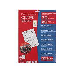 Decadry CD/DVD Labels