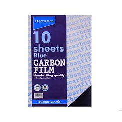 Ryman Carbon Film Hand A4 10 Sheets