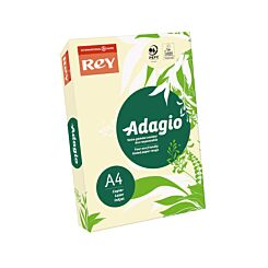 Adagio Colour Selection Card A4 160gsm 250 Sheets Ivory