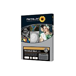 PermaJet FB Gold Silk 315 Inkjet Printer Paper A4 25 Sheets