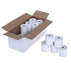 Thermal Cash Register Till Rolls L80m x W80mm Pack of 20