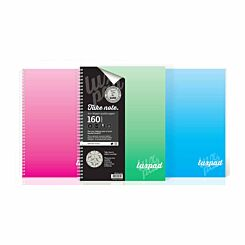 Silvine Luxpad Notebook A4 Ruled 160 Pages 80gsm