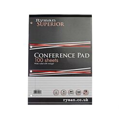 Ryman Superior Pad A4 200 Pages 100 Sheets