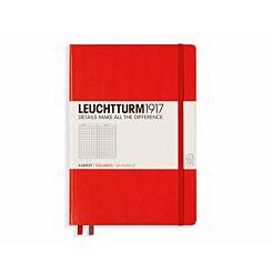 Leuchtturm 1917 Notebook Squared A5 Red