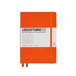 Leuchtturm 1917 Notebook Squared A5 Orange
