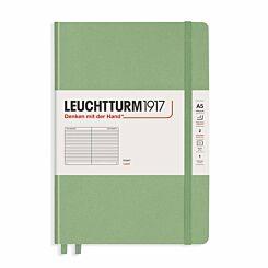 Leuchtturm1917 Hard Cover Notebook Ruled A5 Sage Green