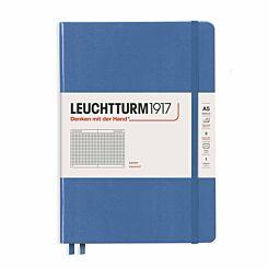 Leuchtturm1917 Hard Cover Notebook Squared A5 Denim