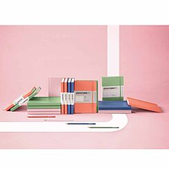 Leuchtturm1917 Hard Cover Notebook Squared A5 Pink