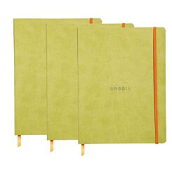 Rhodiarama B5 Ruled Notebook Green