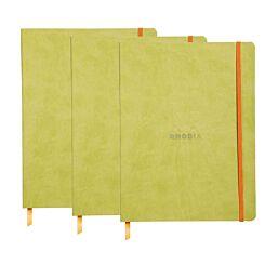 Rhodiarama B5 Ruled Notebook Pack of 3 Green