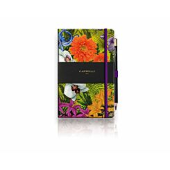 Castelli Eden Orchid Ruled Notebook A5