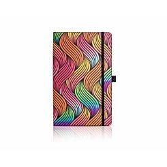 Castelli Milano Notebook Medium Ruled Iride Waves