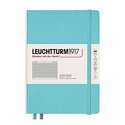 Leuchtturm Notebook Squared A5 Aquamarine