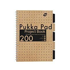 Pukka Kraft Project Book A4