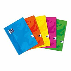 Oxford Touch Stapled Notebook A4 Assorted