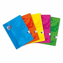 Oxford Touch Stapled Notebook A5 Assorted