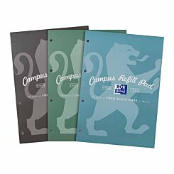 Oxford Campus Refill Pad 140 Page A4 Metallic