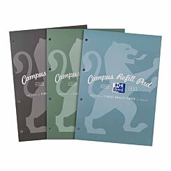 Oxford Campus Refill Pad 300 A4 Page Metallic