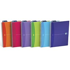 Oxford Office Notebook A4 Wiro Assorted