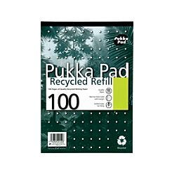 Pukka Recycled Refill Pad A4 Pack of 6