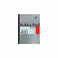 Pukka Refill Pad A4 400 Pages 80gsm Pack of 20