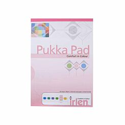 Pukka Dyslexia Pad A4 80gsm Ruled 100 Pages Pack of 60 Rose