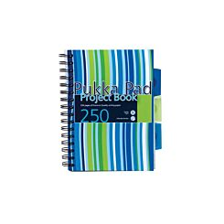 Pukka Project Book Pad A5 250 Pages Pack of 3