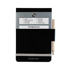 Pukka Pocket Notebook With Pencil Holder 200 Pages Pack of 3