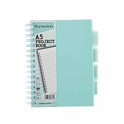 Ryman Pastel Project Book A5 Mint