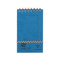 Europa Minor Pad 80gsm Ruled 127x76mm 120 Pages 60 Sheets Blue