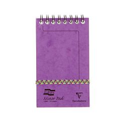 Europa Minor Pad 80gsm Ruled 127x76mm 120 Pages 60 Sheets Lilac